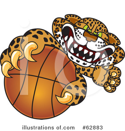 Cheetah Character Clipart #62883 by Toons4Biz