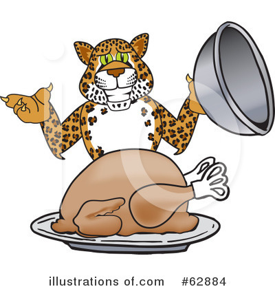 Cheetah Character Clipart #62884 by Toons4Biz