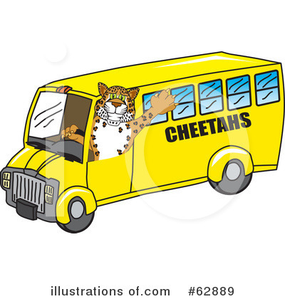 Cheetah Character Clipart #62889 by Toons4Biz