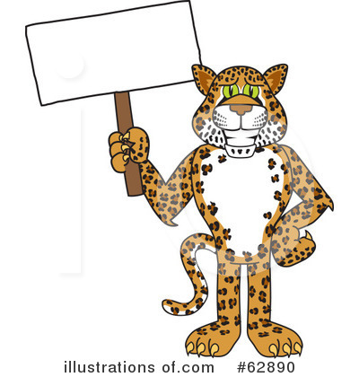 Cheetah Character Clipart #62890 by Toons4Biz