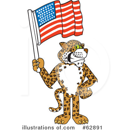 Cheetah Character Clipart #62891 by Toons4Biz