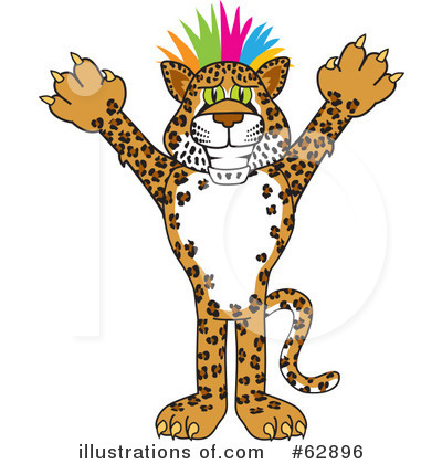 Cheetah Character Clipart #62896 by Toons4Biz