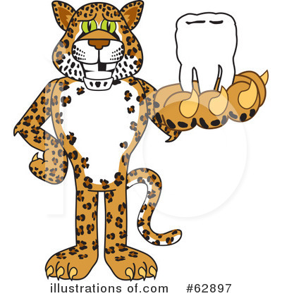 Cheetah Character Clipart #62897 by Toons4Biz