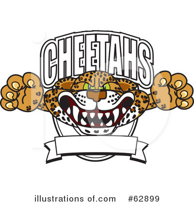 Cheetah Character Clipart #62899 by Toons4Biz