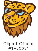 Cheetah Clipart #1403691 by patrimonio