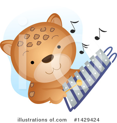 Xylophone Clipart #1429424 by BNP Design Studio