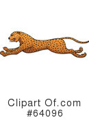 Cheetah Clipart #64096 by Paulo Resende