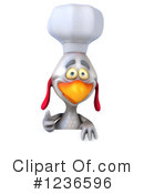 Chef Chicken Clipart #1236596