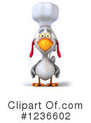 Chef Chicken Clipart #1236602