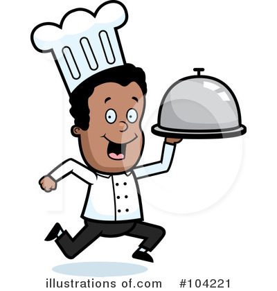 Royalty-Free (RF) Chef Clipart Illustration by Cory Thoman - Stock Sample #104221