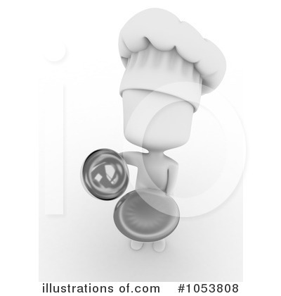 Royalty-Free (RF) Chef Clipart Illustration by BNP Design Studio - Stock Sample #1053808