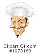 Chef Clipart #1073169 by AtStockIllustration