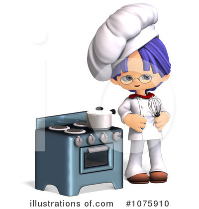 Royalty-Free (RF) Chef Clipart Illustration by Ralf61 - Stock Sample