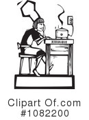 Royalty-Free (RF) Chef Clipart Illustration #1082200