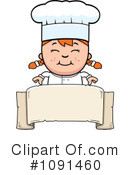Royalty-Free (RF) Chef Clipart Illustration #1091460