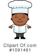Royalty-Free (RF) Chef Clipart Illustration #1091461