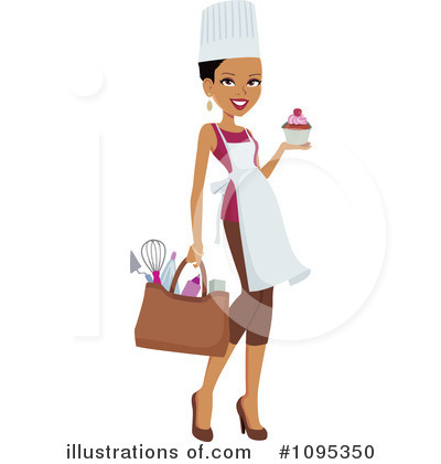 Black Woman Clipart #1095350 by Monica