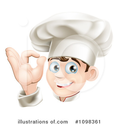 Chef Hat Clipart #1098361 by AtStockIllustration