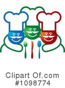 Royalty-Free (RF) Chef Clipart Illustration #1098774