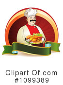 Royalty-Free (RF) Chef Clipart Illustration #1099389