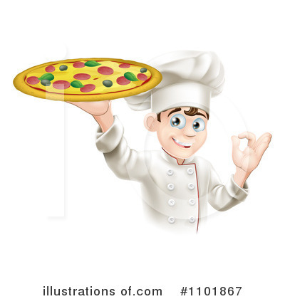 Pizza Clipart #1101867 by AtStockIllustration