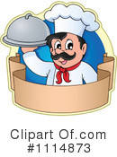 Royalty-Free (RF) chef Clipart Illustration #1114873