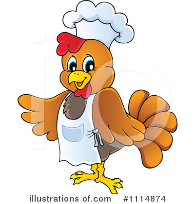 Chicken Clipart #1114874 by visekart