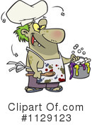 Royalty-Free (RF) Chef Clipart Illustration #1129123