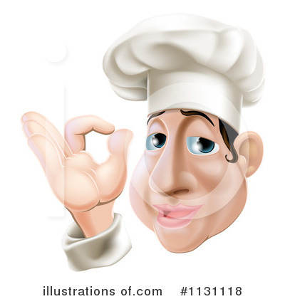 Chef Hat Clipart #1131118 by AtStockIllustration
