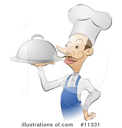 Chef Hat Clipart #11331 by AtStockIllustration