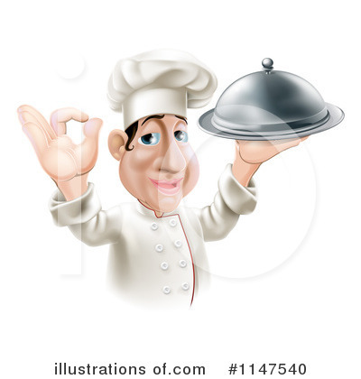 Chef Hat Clipart #1147540 by AtStockIllustration