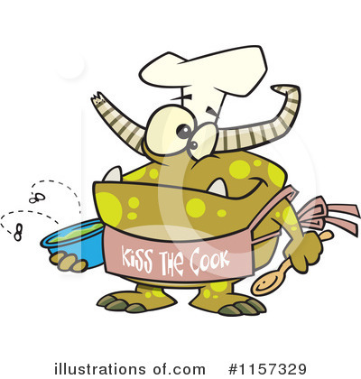 Chef Clipart #1157329 by toonaday
