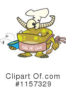 Royalty-Free (RF) Chef Clipart Illustration #1157329