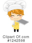 Royalty-Free (RF) Chef Clipart Illustration #1242598
