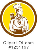 Chef Clipart #1251197 by patrimonio