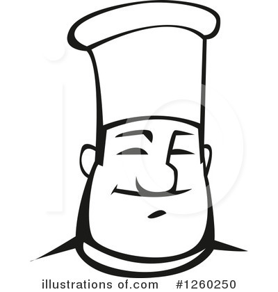 Chef Clipart #1260250 by Vector Tradition SM