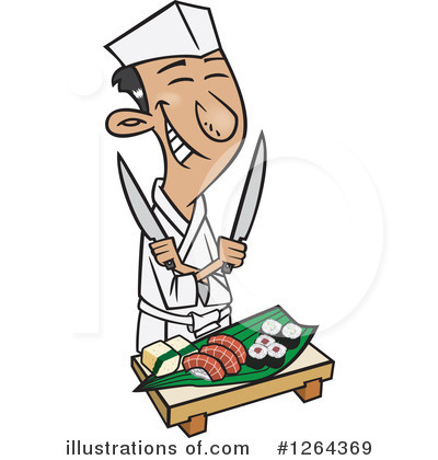 Chef Clipart #1264369 by toonaday