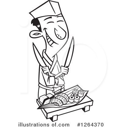 Chef Clipart #1264370 by toonaday