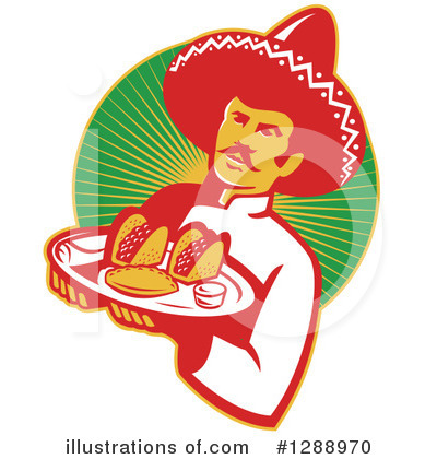 Waiter Clipart #1288970 by patrimonio