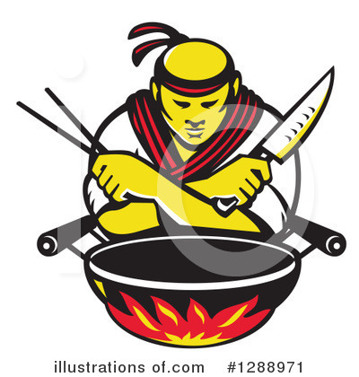 Chef Clipart #1288971 by patrimonio