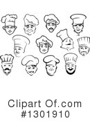Chef Clipart #1301910 by Vector Tradition SM