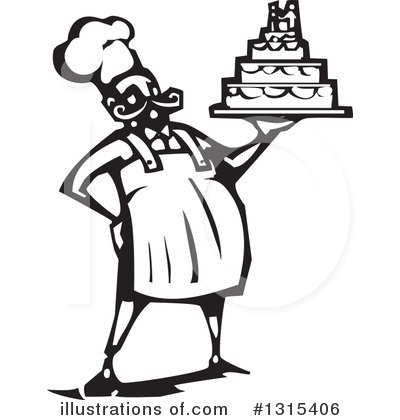 Wedding Cake Clipart #1315406 by xunantunich