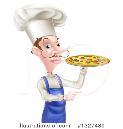Pizza Clipart #1327439 by AtStockIllustration