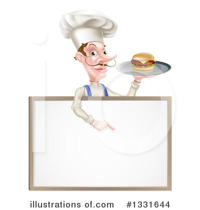 Royalty-Free (RF) Chef Clipart Illustration by AtStockIllustration - Stock Sample #1331644