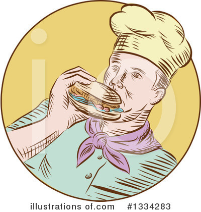 Burger Clipart #1334283 by patrimonio