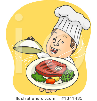 Dining Clipart #1341435 by BNP Design Studio