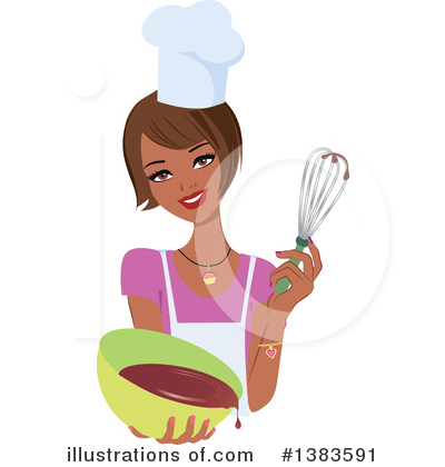 Black Woman Clipart #1383591 by Monica