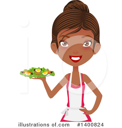 Chef Clipart #1400824 by Melisende Vector