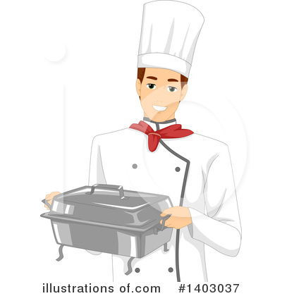 Chef Clipart #1403037 by BNP Design Studio