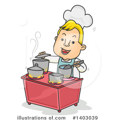 Chef Clipart #1403039 by BNP Design Studio